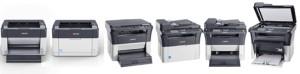 Линейка бюджетных принтеров и МФУ Kyocera